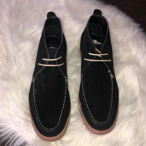 New Joseph Abboud men's black shoes.